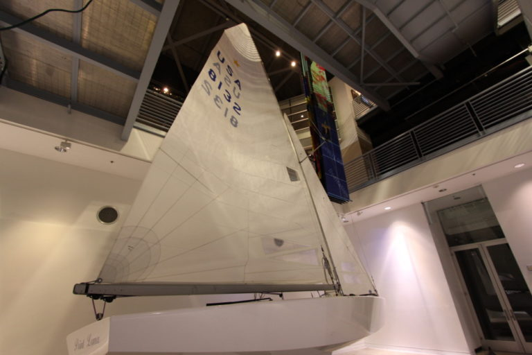 HALL OF CHAMPIONS LAUNCH SAILING EXHIBIT
