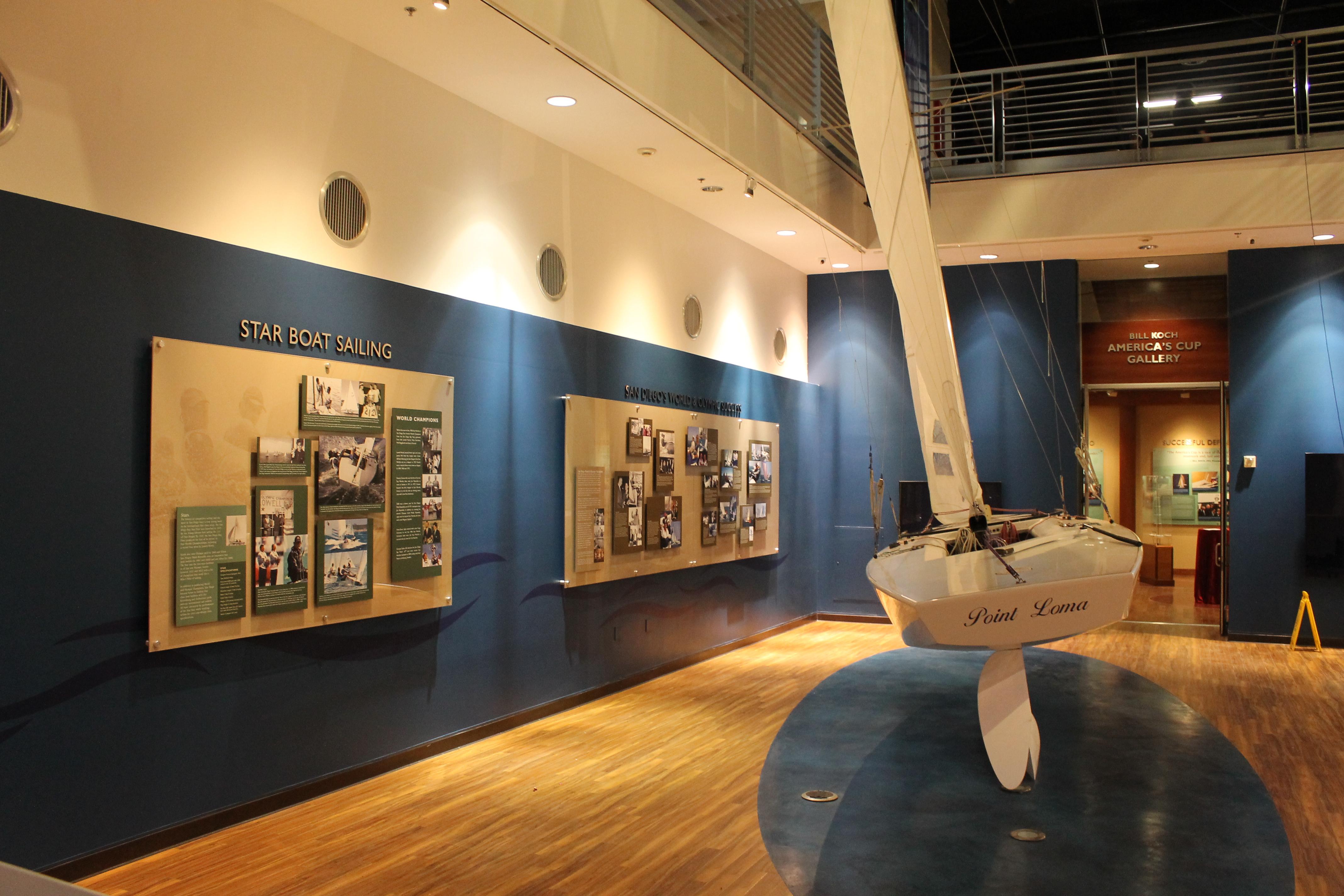 Theater Foyer & Sailing Exhibit