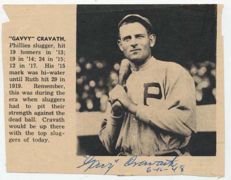Gavy Cravath